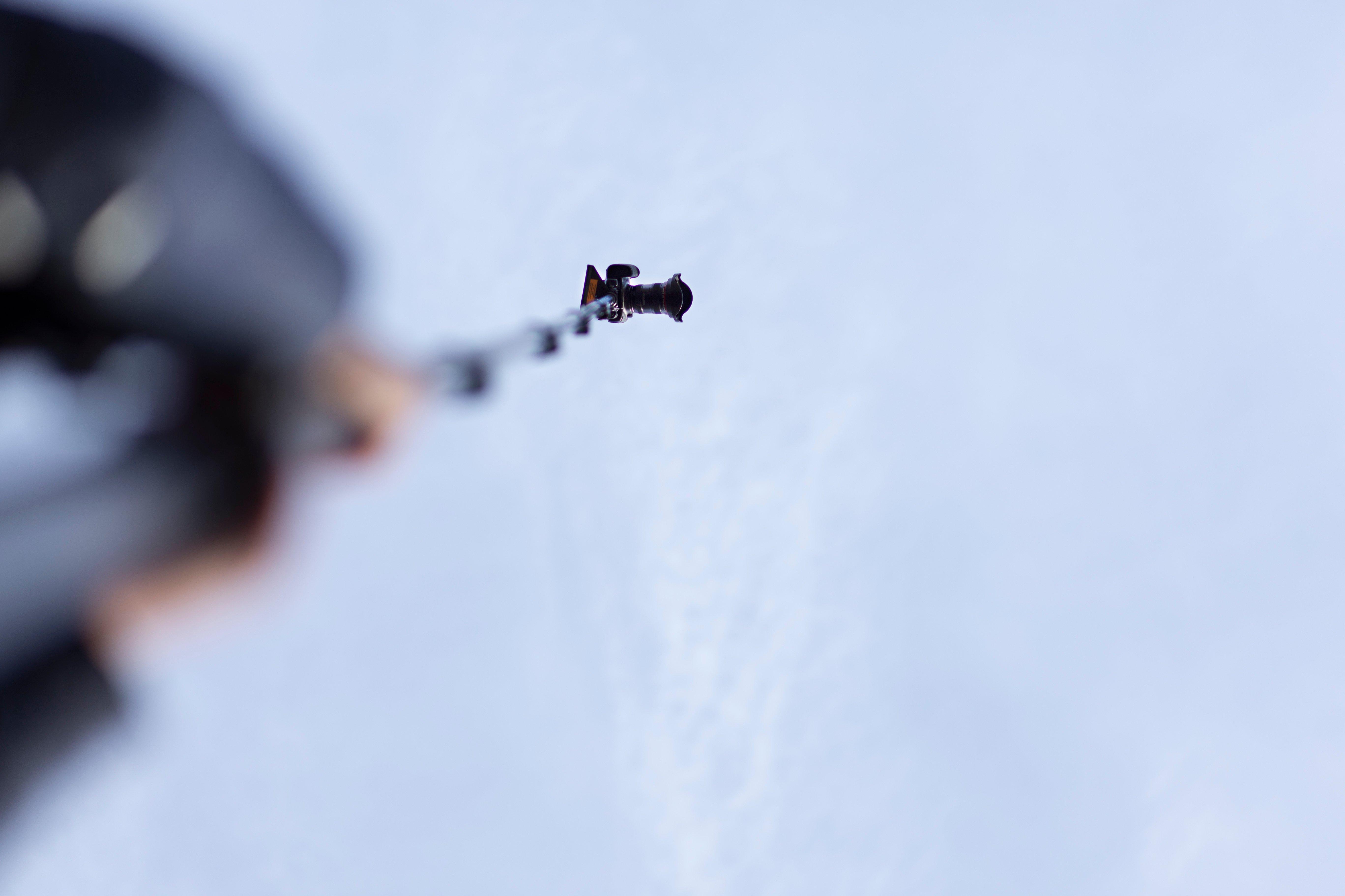 Hoogtefotografie mast Zibber